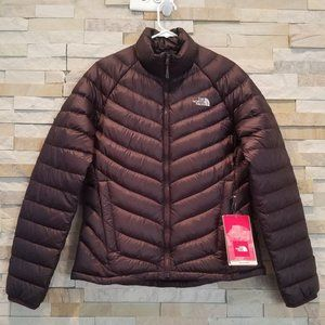 NEW North Face Womens Medium Purple Puffer Jacket